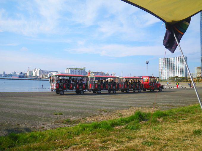 千葉ポートタワー 列車
