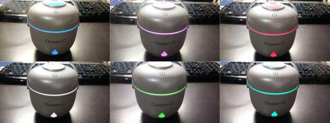 Ocean-C 卓上加湿器のライティング