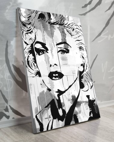 Oversized Wall Art Pop Decor Gigantic Big Biggest Massive Huge Large Largest Giant Wall Décor Art Backlit Fabric Home Deco Artwork Monaco Artist Lukas Avalon lukasavalon marilyn monroe