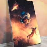 Oversized Wall Art Surreal Decor Huge Massive Oversized Gigantic Biggest Big