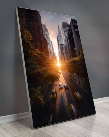 New York Skyline Wall Art Billy Dinh Oversized Wall Art Gigantic Big Biggest Massive Huge Large Largest Giant Enormous Home Decor NYC NY Street Cityscape City Mood portrait Art Instagram Artist Billydee
