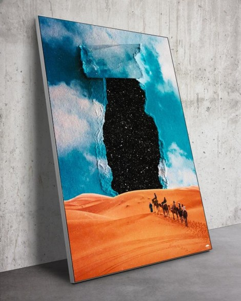 Large-Surreal-Desert-Sand-Stars-Wall-Art-Seamless