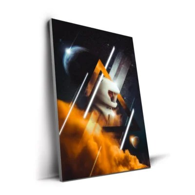 Guide Oversized Space Wall Art