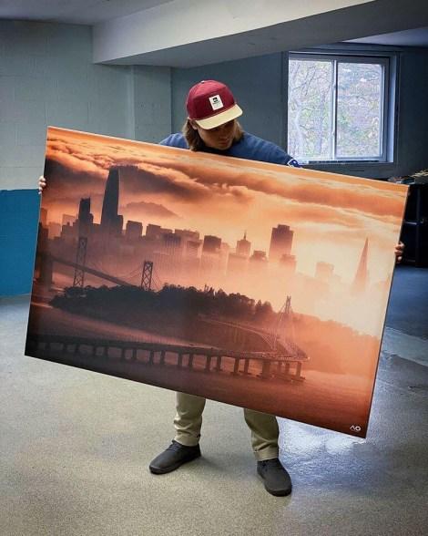 Big City Line Wall Art Huge Decor Prints