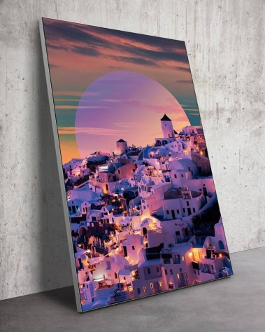 Large Night Lights Wall Art Massive