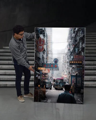 Hong Kong Wall Art Extra Large
