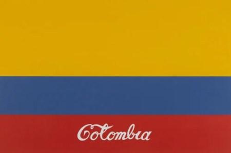 Coca Cola Colombia Iconic Artwork