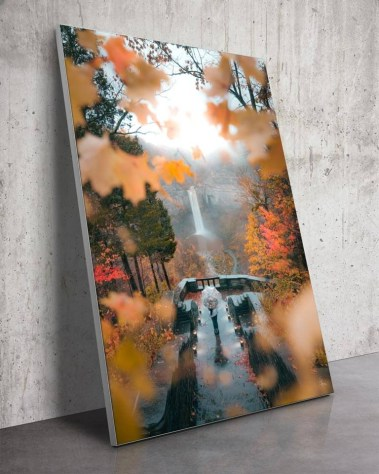 Giant T Lake Falls New York Aerial Wall Art Inception Urban Photography Ivan Wong