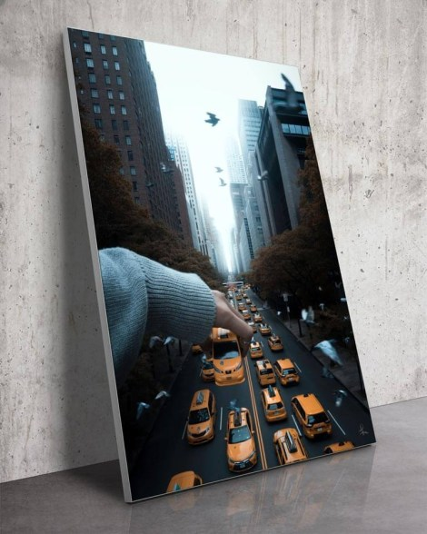 Large-Tudor-City-Taxi-Wall-Art-Wong