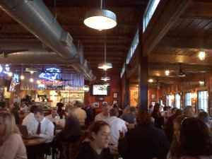 Lunch Crowd at Mac's Speed Shop