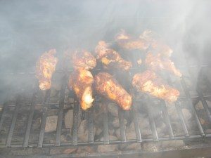 Wings on the Grill