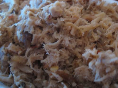 Pork closeup