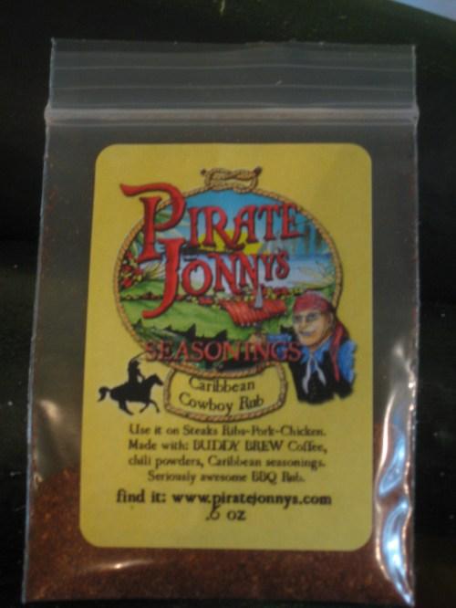 Pirate Jonny's Caribbean Cowboy Steak Rub