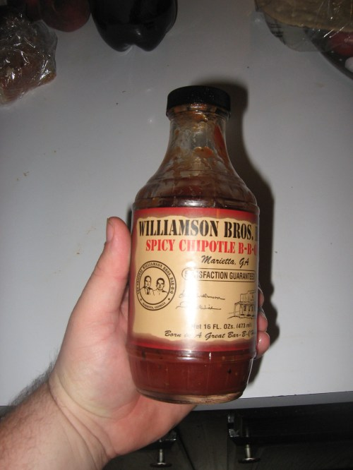 Williamson Bros. Spicy Chipotle BBQ Sauce