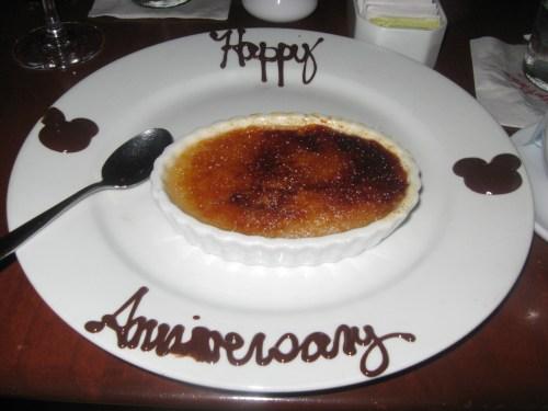 Maple Crème brûlée from Le Cellier Steakhouse