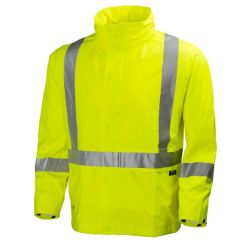 Men's yellow Narvik helly hansen workwear Jacket
