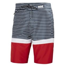 Helly Hansen Men's navy stripes Marstrand Trunk