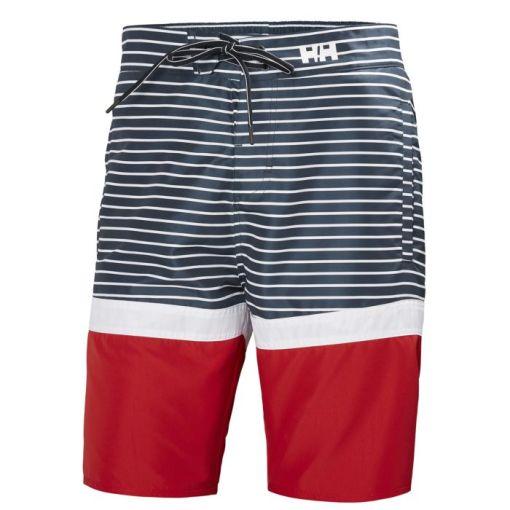 Helly Hansen Men's navy stripes Marstrand Trunk