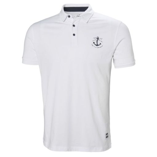 Helly hensen men's white Polo t-shirt