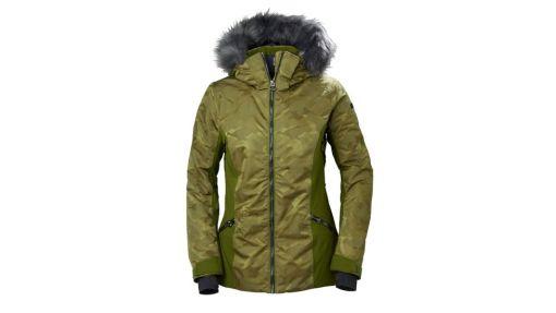 Women's dark green Skistar Soft fur Jacket