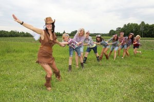 festival themed hen party
