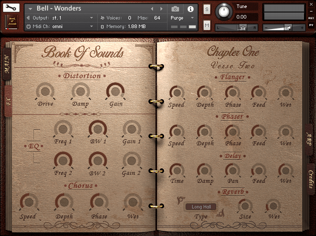 Book Of Sounds Kontakt Library 4