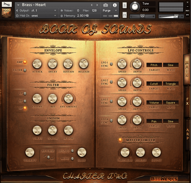 Book Of Sounds II Kontakt Library