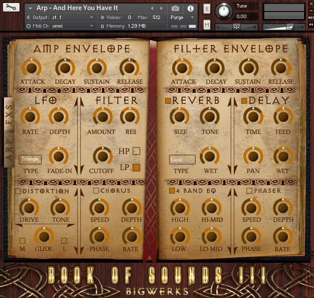 Book Of Sounds III Kontakt Library 2