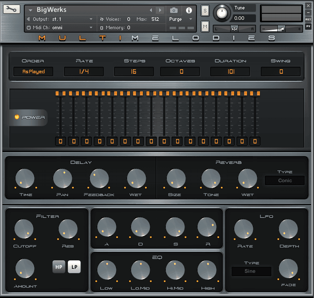 Multi Melodies Kontakt Library 2