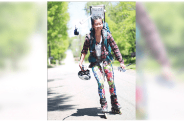 morgancountycitizen.com: Yanise Ho Rolling Across the Country