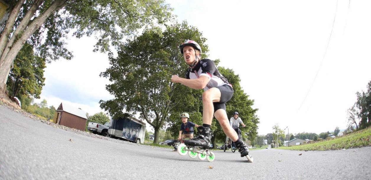 Are You Down? The Blading Evolution of Cameron Card