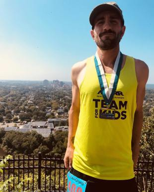 Rob has been running marathons as well.