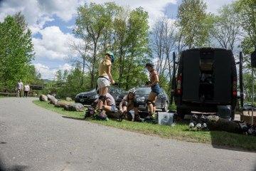 Ski Essentials Rollerblade Demo Day in Stowe, Vermont