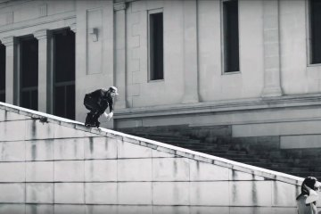 FSK: Mathias von Gostømski and Danny Aldridge Freeskating in Barcelona