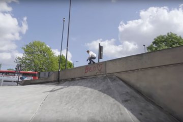 Sam Crofts Freeskating London on USD Aeon 80 Skates