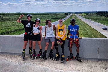 3 Skaters in a Sea of 20,000 Cyclists: Conquering 500 miles in a Ride Across Iowa