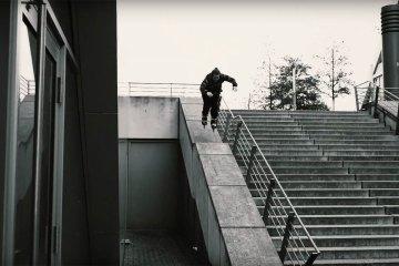 Eugen Enin Freeskating on 100mm Powerslide Doop Skates
