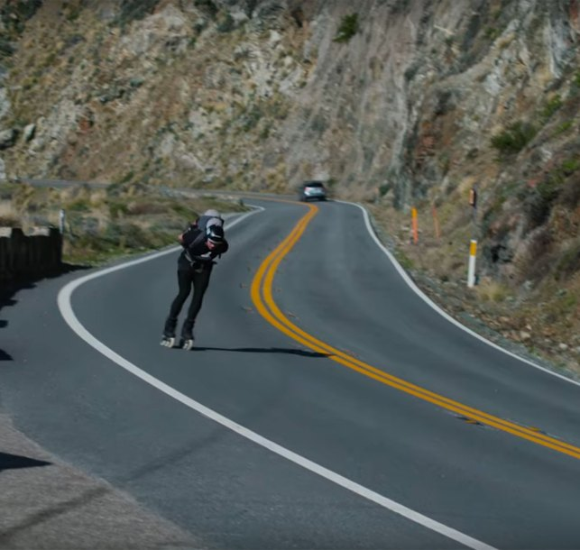 """ULTRA"" Caleb Smith Inline Skates 500 Miles Along the California Coast from San Francisco to Los Angeles"