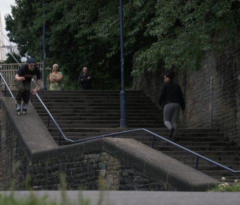 "Watch Si Coburn Urban Inline Skating Through the Streets of Bristol, England in ""Si Coburn – Bristol 2020"""