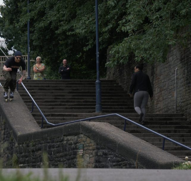 "Watch Si Coburn Urban Inline Skating Through the Streets of Bristol, England in ""Si Coburn – Bristol 2020"""