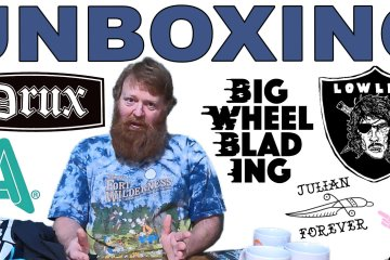 Unboxing Anew Co., Drux, Lowlife, Then And Now, Big Wheel Blading