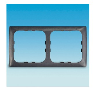 C-Line Double Faceplate