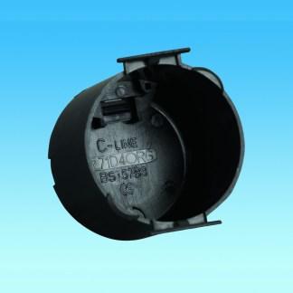 C-Line Round Back Box