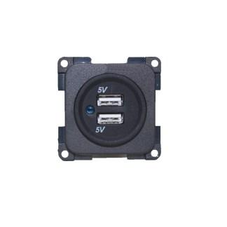 C-Line Twin USB Socket_Camper