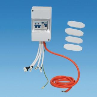 Powerpart BC17009 Prewired Consumer Unit