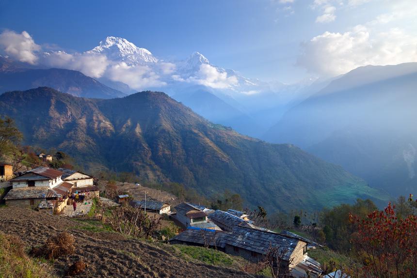 Ghandruk ,Nepal