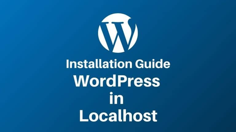 WordPress in Localhost