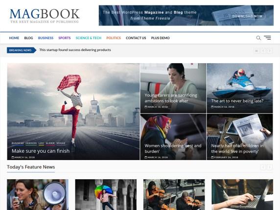 magbook wordpress theme