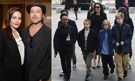 Image result for Angelina Jolie Required To Give Brad Pitt More Access To Their Kids