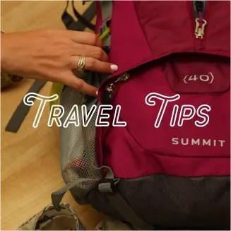 travel tip blog